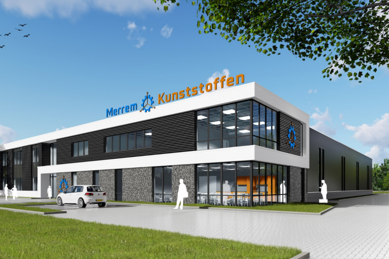 Relocation Merrem Kunststoffen to a new building